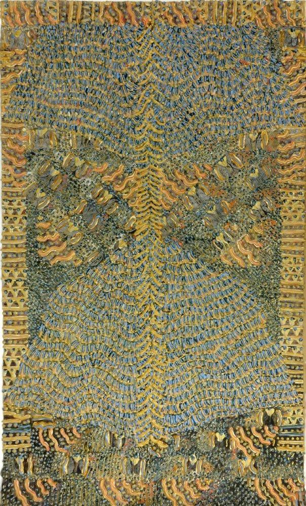 Frank Faulkner, American (b-1946) Modern Abstract - 2
