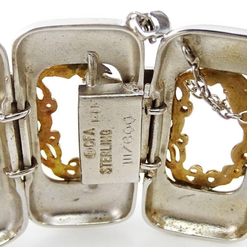 Erte, French (1892-1990) Vintage 14 Karat Yellow Gold - 2