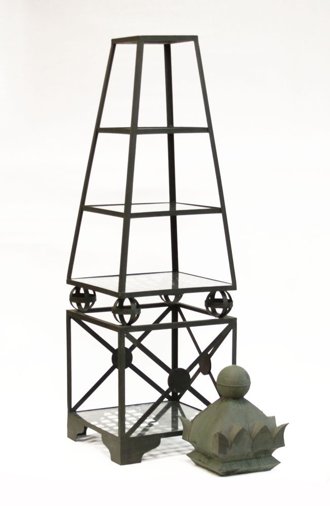 Devonshire Furniture Co. Painted Metal Graduated Tiered - 2