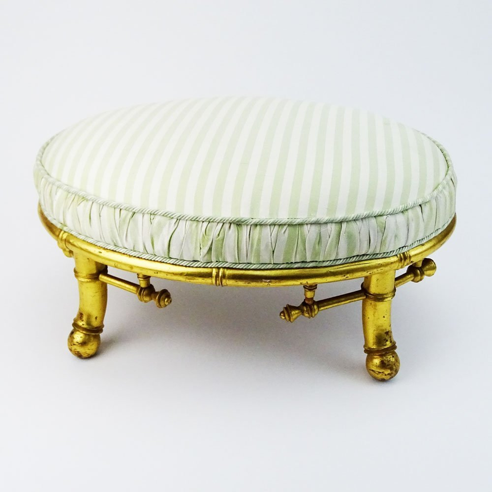 Bancroft & Dyer Furniture Gilt Wood Bamboo Style