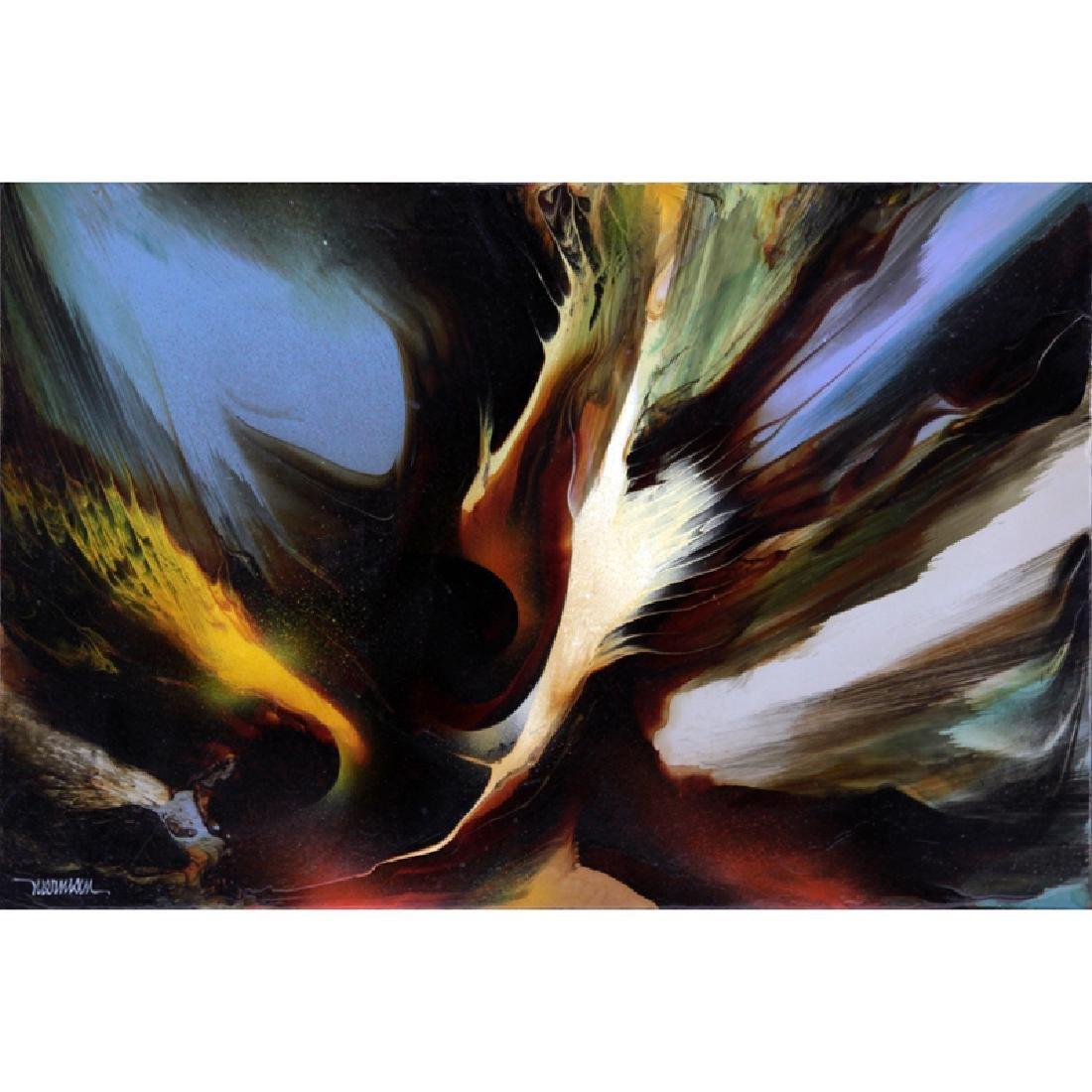 Leonardo M. Nierman, Mexican/American (b-1932) Abstract
