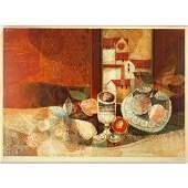 """Alvar Sunol Munoz-Ramos, Spanish (b-1935) """"Untitled"""""""