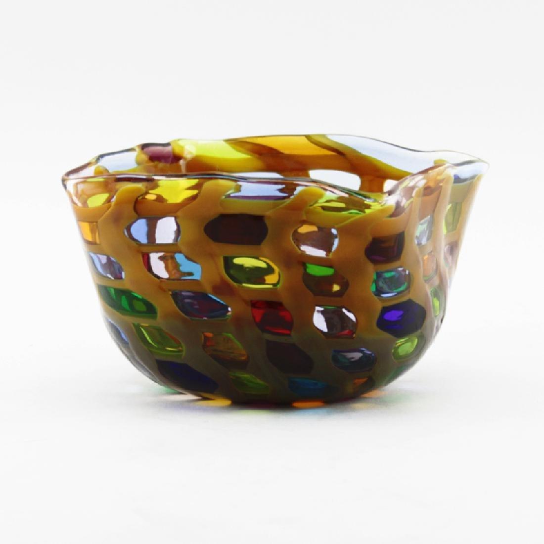 Hans Peter Neidhardt (b-1947) Oggetti Art Glass