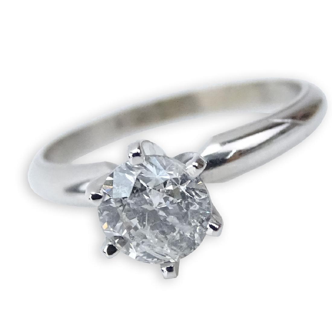 AIG Certified 1.00 Carat Round Brilliant Cut Diamond