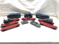 (9) Asst Lionel Train Cars w/ Extras