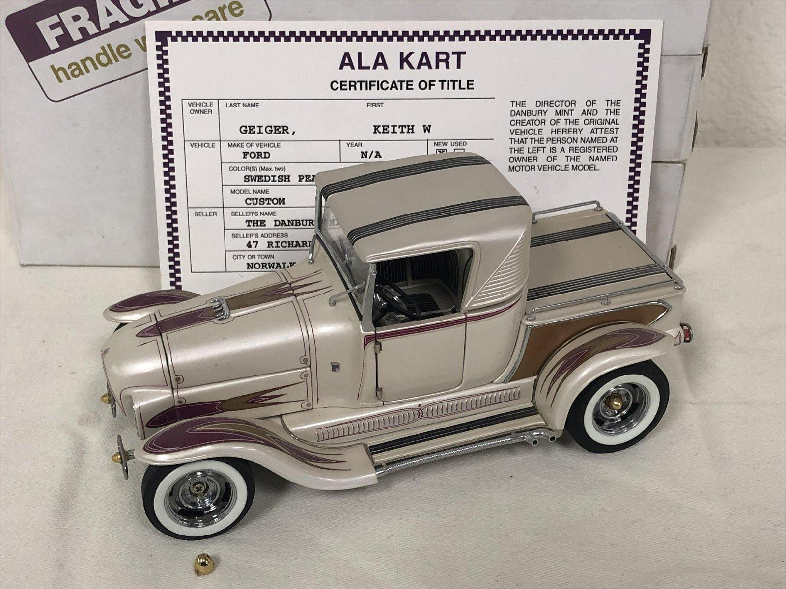 Diecast 'AlaKart' Custom Roadster Model - Original Box