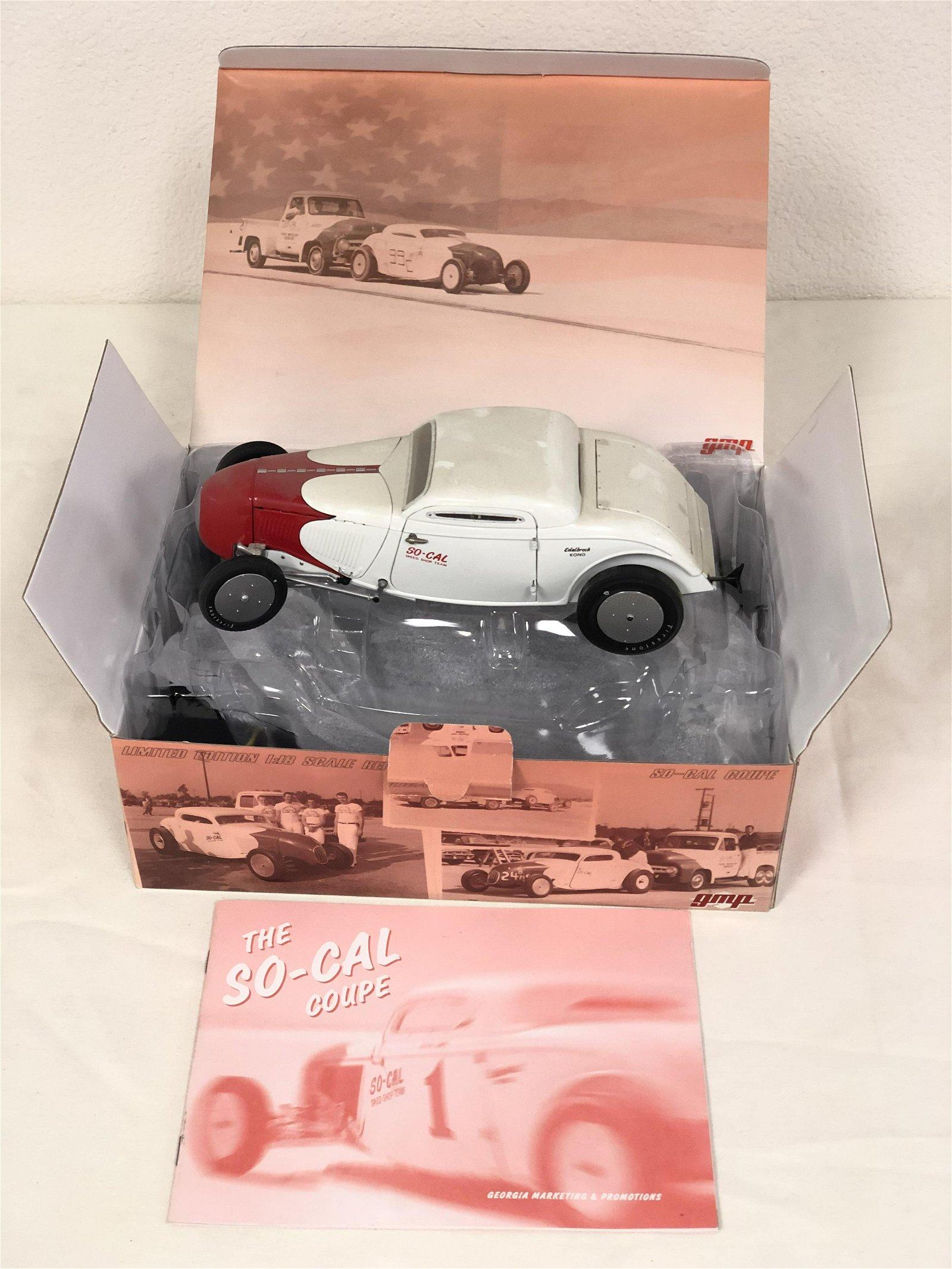 GMP Diecast So-Cal Coupe Model Car - Original Box, 1:18