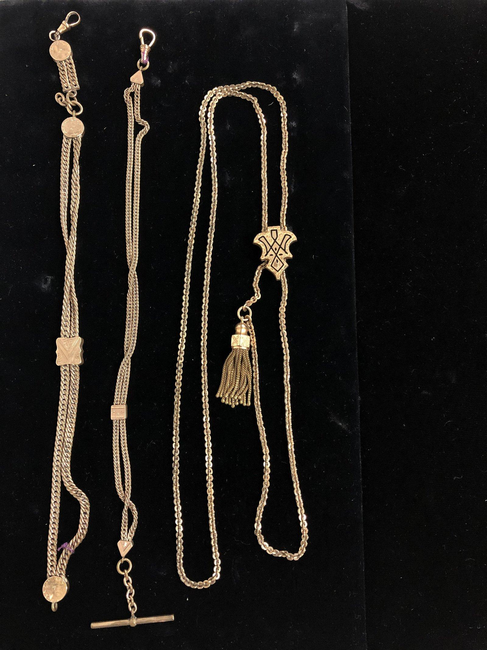 Victorian Slide Chain Necklaces