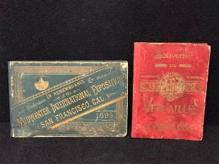 2Atq Books 1894 San Francisco Versailles