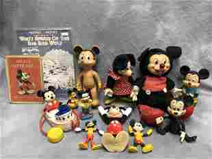 Vintage Mickey Mouse Items