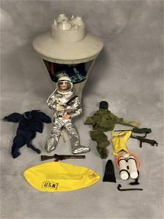 1964 GI Joe Space Rocket Clothes More