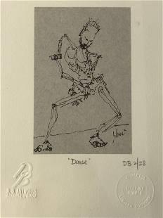 Jerry Garcia DB Artworks Lithograph Danse