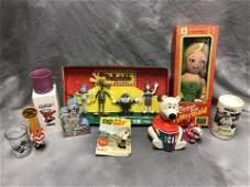 Vintage, Asst Advertising, Show Toys