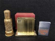 3Vintage Lighters  1 is Zippo Advertising