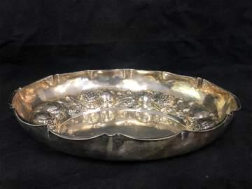 Atq Bruckmann & Sohne .800 Silver Bowl, 328g - Antique