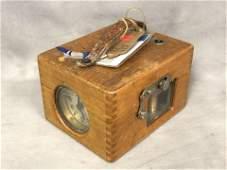 F.E.Benzing 7 Jewel Pigeon Racing Clock - German 1930s