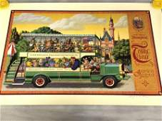 Signed, Disney Poster '1st Annual Bear Classic' -