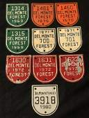 10Del Monte Forest Pebble Beach Gate Badge  1969