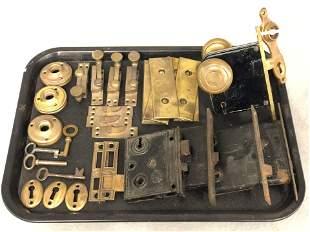 Atq / Vtg Hardware, Brass Hardware - Yale, Branford &