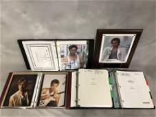 Miami Vice TV Scripts , Autographed Don Johnson -