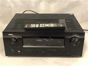Denon AVR 591 Surround Receiver w/ Remote - Powers Up,
