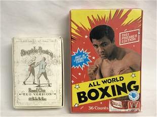 Ringside Boxing Round One TKO & All World Cards -