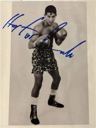 Autographed Hector 'Macho' Camacho Photo