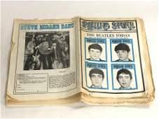 1968 Rolling Stones Magazine Paper, Beatles - No.20 w/