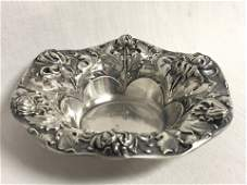 Atq Gorham Sterling Silver Chrysanthemum Bowl -