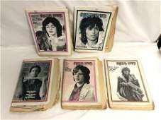 (5)Rolling Stones Magazines, #39 B.Jones,More - 1969