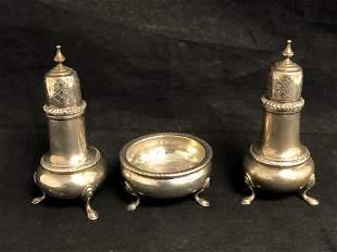 Sterling Salt / Pepper / Master Salt Bowl, 164.6g -