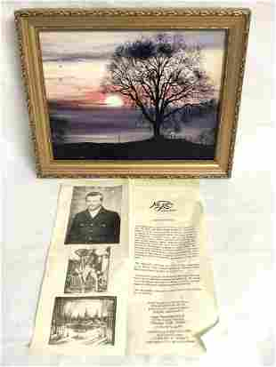 Gary Marshall Landscape Art Litho - Napa Art w/ Writing