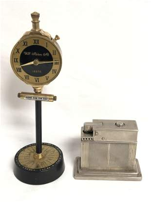 Art Deco Mylflam Lighter & Swank Lighter - Swank Will