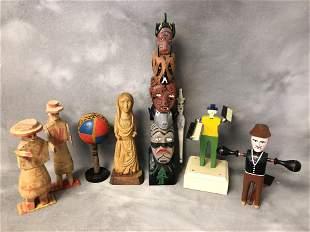 Vtg American & Latin Folk Art Items - Whirl-A-Gigs ,