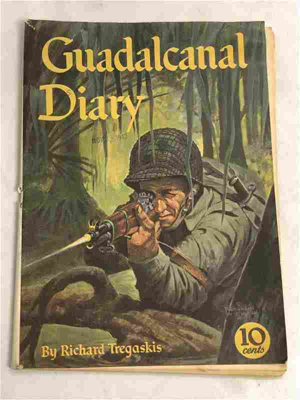 1943 Guadalcanal Diary Comic Book - By Richard