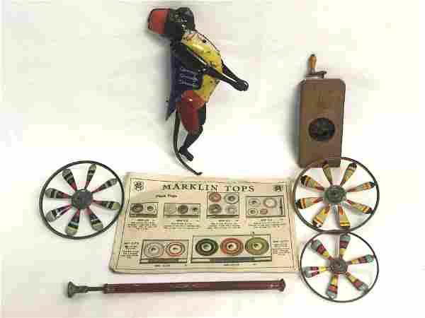 Antique Tin Toys - Marx, Marklin, More - Marx Zippo the