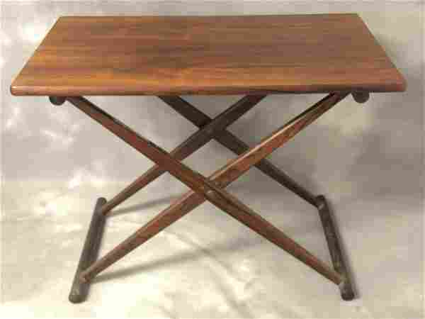 MCM Knud Andersen Teak Folding Table - Danish MCM w/