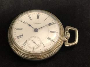 Atq American Waltham Pocket Watch - 1883, 17 Jewel,