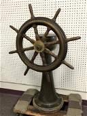 Atq Allan Cunningham Ship Steering Station - Allan