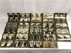 (29)Asst Antique Stereoviews - West Point Cadets,