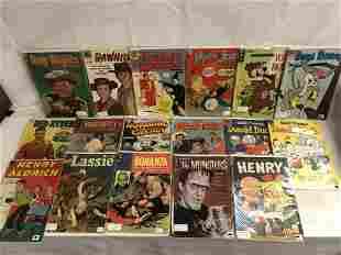 (17)Silver Age Comicbooks, Captain Marvel & More - Mutt