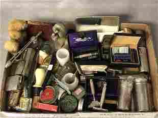 Antique/ Vintage Shaving Items,Razors,More - Gem