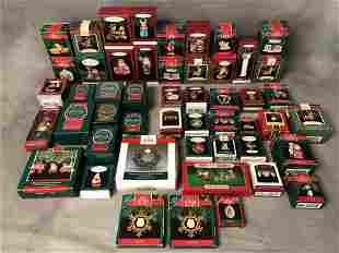 50 Asst Hallmark Keepsake Ornaments - All w/ Original