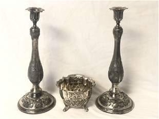 Victorian Roswell & Gleason & Sons Silverplate - Circa