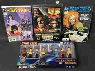 Star Trek Comics & Pez Dispensers - Marvel Comics
