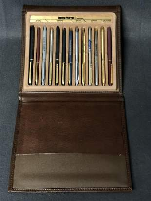 Chromatic Pen Salesman Sample in Case