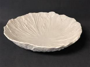 Calif. Pottery Cabbage Leaf Bowl - Marked 592 WP. Calie