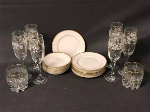 Bavaria Gold Rim China & Gold Rim Glasses - (6)Bavaria