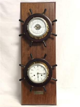Nautical Schatz Mariner Clock & Barometer - 1975-1977