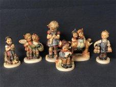 (6)1960-1972 Goebel Hummel Figures - #179 Coquettes,